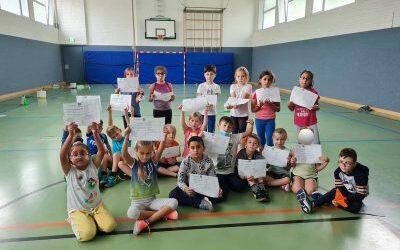 """""""Sportfest der Begegnung"""" – Spiel, Spaß, Sport in der Teckschule"""